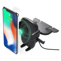 Автодержатель iOttie One Touch 4 Wireless Qi Charging CD Mount HLCRIO136AM
