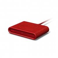 Беспроводная зарядка iOttie iON Wireless Fast Charging Pad Mini Красная