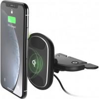 Автодержатель iOttie iTap Wireless 2 Fast Charging Magnetic CD Slot Mount HLCRIO139
