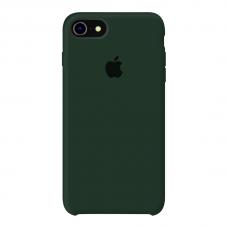 Силиконовый чехол Apple Silicone Case Forest Green для iPhone 7/8