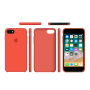 Силиконовый чехол Apple Silicone Case Spicy Orange для iPhone 7/8 (копия)