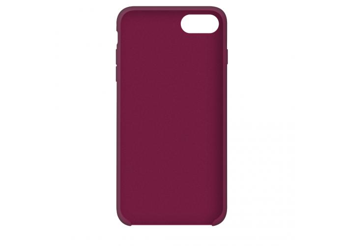 Силиконовый чехол Apple Silicone Case Rose Red для iPhone 7/8 (копия)