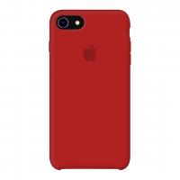 Силиконовый чехол Apple Silicone Case Red для iPhone 7/8 (копия)