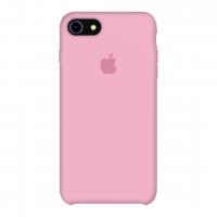 Силиконовый чехол Apple Silicone Case Pink для iPhone 7/8 (копия)