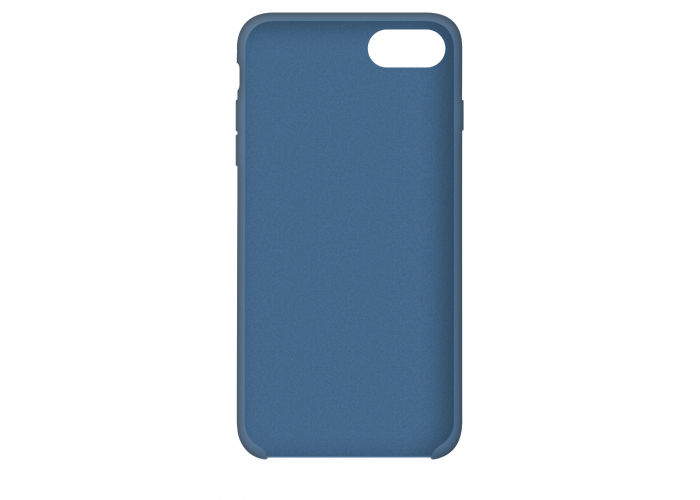 Силиконовый чехол Apple Silicone Case Denim Blue для iPhone 7/8 (копия)