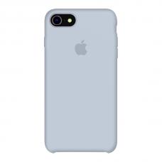 Силиконовый чехол Apple Silicone Case Mist Blue для iPhone 7/8 (копия)