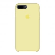 Силиконовый чехол Apple Silicone Case Mellow Yellow для iPhone 7 Plus /8 Plus