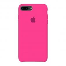 Силиконовый чехол Apple Silicone Case Barbie Pink для iPhone 7 Plus /8 Plus