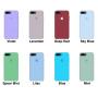 Силиконовый чехол Apple Silicone Case Ultra Violet для iPhone 7 plus/8 plus (Реплика)