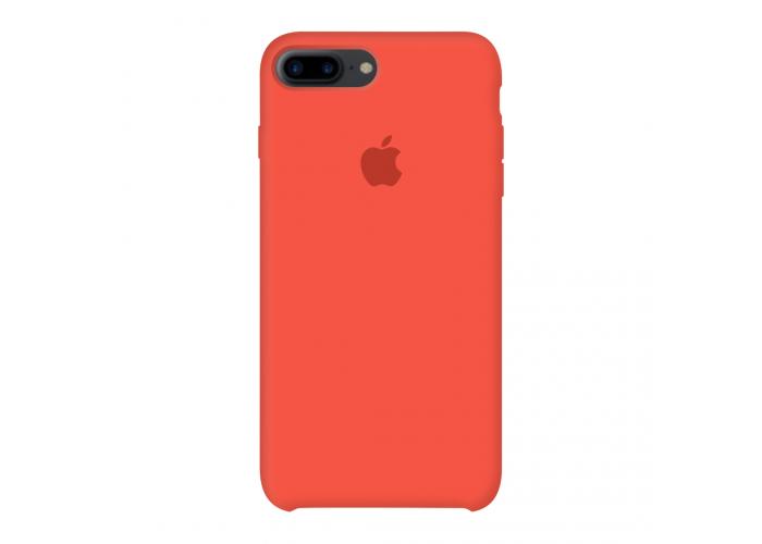 Силиконовый чехол Apple Silicone Case Spicy Orange для iPhone 7 plus/8 plus (Реплика)