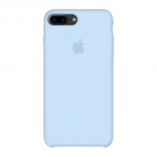 Силиконовый чехол Apple Silicone Case Sky Blue для iPhone 7 Plus / 8 Plus (копия)