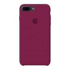 Силиконовый чехол Apple Silicone Case Rose Red для iPhone 7 plus/8 plus (Реплика)