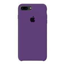 Силиконовый чехол Apple Silicone Case Purple для iPhone 7 Plus / 8 Plus (копия)