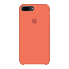 Силиконовый чехол Apple Silicone Case Orange для iPhone 7 Plus / 8 Plus (копия)
