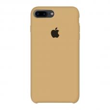 Силиконовый чехол Apple Silicone Case Mustard Beige для iPhone 7 Plus / 8 Plus (копия)