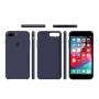 Силиконовый чехол Apple Silicone Case Midnight Blue для iPhone 7 plus/8 plus (Реплика)