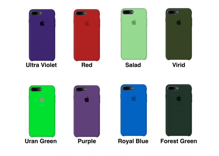 Силиконовый чехол Apple Silicone Case Lemonade для iPhone 7 plus/8 plus (Реплика)