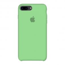 Силиконовый чехол Apple Silicone Case Green для iPhone 7 Plus / 8 Plus (копия)