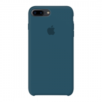 Силиконовый чехол Apple Silicone Case Cosmos Blue для iPhone 7 plus/8 plus (Реплика)