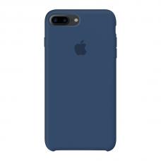 Силиконовый чехол Apple Silicone Case Cobalt Blue для iPhone 7 Plus / 8 Plus (копия)
