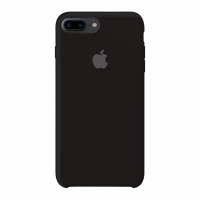 Силиконовый чехол Apple Silicone Case Black для iPhone 7 plus/8 plus (Реплика)