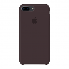 Apple Silicone Case Cocoa для iPhone 7 plus/8 plus