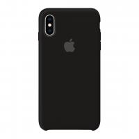 Силиконовый чехол Apple Silicone Case Black (Черный) для iPhone X /10 (копия)