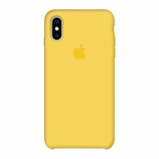 Силиконовый чехол Apple Silicone Case Canary Yellow для iPhone X/Xs