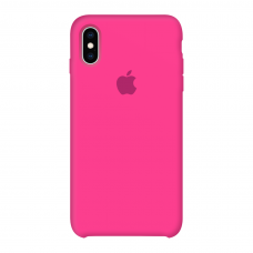 Силиконовый чехол Apple Silicone Case Barbie Pink для iPhone X/Xs