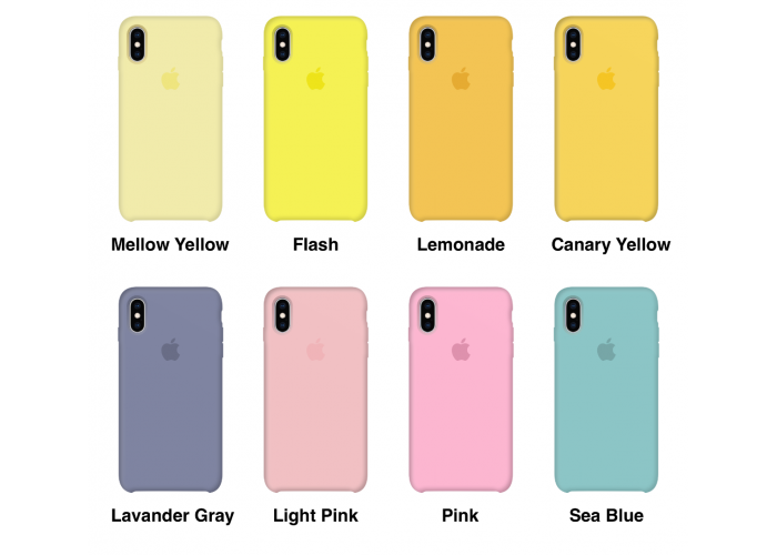 Силиконовый чехол Apple Silicone Case Sea Blue для iPhone X /10 / Xs/10s (копия)
