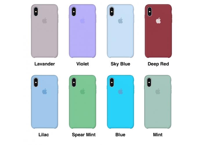 Силиконовый чехол Apple Silicone Case Salad для iPhone X /10 Xs/10s (копия)