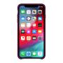 Силиконовый чехол Apple Silicone Case Rose Red для iPhone X /10 Xs/10s (копия)