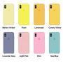 Силиконовый чехол Apple Silicone Case Purple для iPhone X /10/Xs (копия)