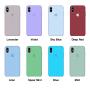 Силиконовый чехол Apple Silicone Case Light Pink (светло-розовый) для iPhone X /10 Xs/10s (копия)