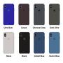 Силиконовый чехол Apple Silicone Case Lemonade для iPhone X /10 Xs/10s (копия)
