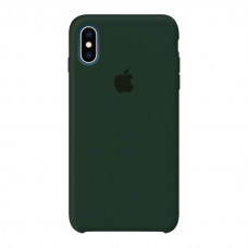 Силиконовый чехол Apple Silicone Case Forest Green для iPhone X/Xs