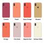 Силиконовый чехол Apple Silicone Case Denim Blue для iPhone X /10 Xs/10s (копия)