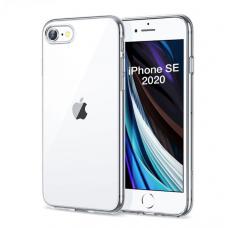 Силиконовый прозрачный чехол для iPhone SE 2