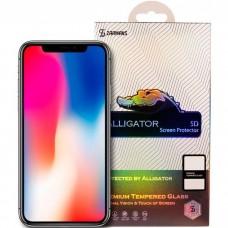Защитное 5D стекло для iPhone 11/Xr Zarmans Alligator
