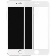 Защитное стекло SIM Glass для iPhone SE 2 White (Белое)