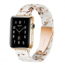 Ремешок для Apple watch 42/44mm Resin band White (Белый)