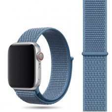 Ремешок для Apple Watch 42/44mm Nylon Sport Loop Cape Cod Blue