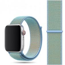 Ремешок для Apple Watch 42/44mm Nylon Sport Loop Cornflower