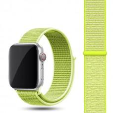 Ремешок для Apple Watch 42/44mm Nylon Sport Loop Flash