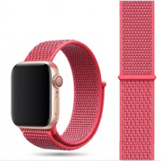 Ремешок для Apple Watch 42/44mm Nylon Sport Loop Hibiscus