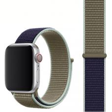 Ремешок для Apple Watch 42/44mm Nylon Sport Loop Khaki