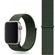 Ремешок для Apple Watch 42/44mm Nylon Sport Loop Khargo Khak
