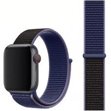 Ремешок для Apple Watch 42/44mm Nylon Sport Loop Midnight Blue