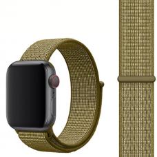 Ремешок для Apple Watch 42/44mm Nylon Sport Loop Olive Green