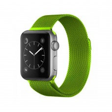 Ремешок для Apple Watch Milanese loop 38/42мм Lime Green